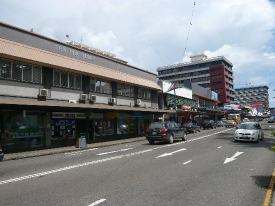 Suva: Blick Victoria Parade hinunter