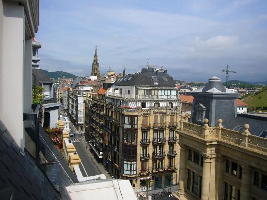 Hotel Husa Europa: algo bueno, las vistas con el balconcillo