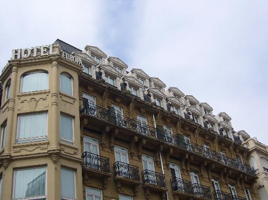 Hotel Husa Europa: nuestra hab, arriba del todo