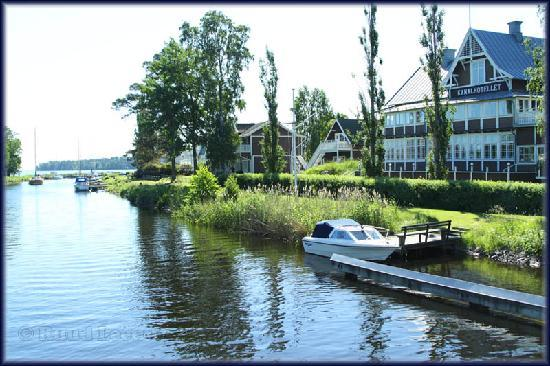 Karlsborg, Suecia: Kanalhotellet on the Gota Canal