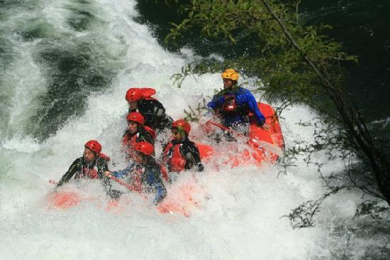 Pucon, Chili: Rafting Trancura alto