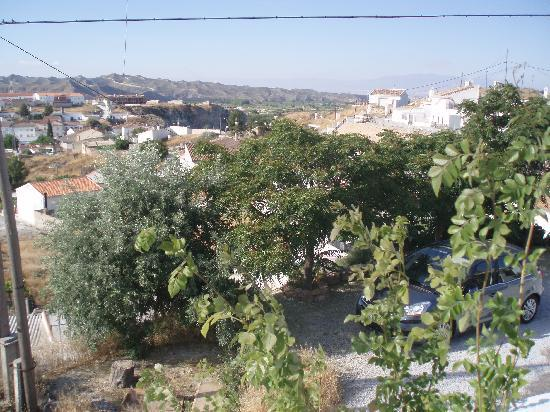Cueva Pedro: View from sun terrace