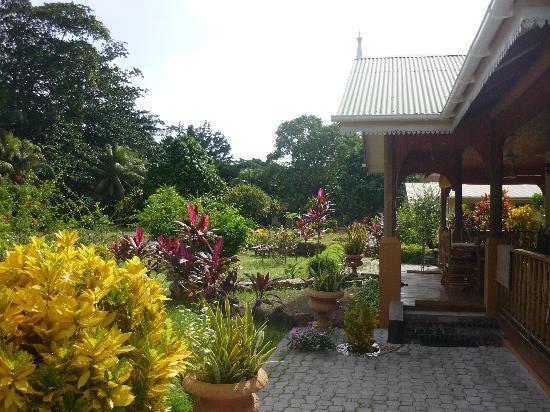 Casa De Leela: giardino