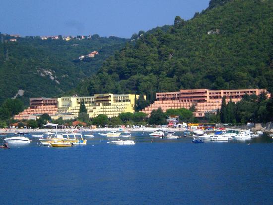 Rabac, Kroatia: dalla passeggiata verso il porto...
