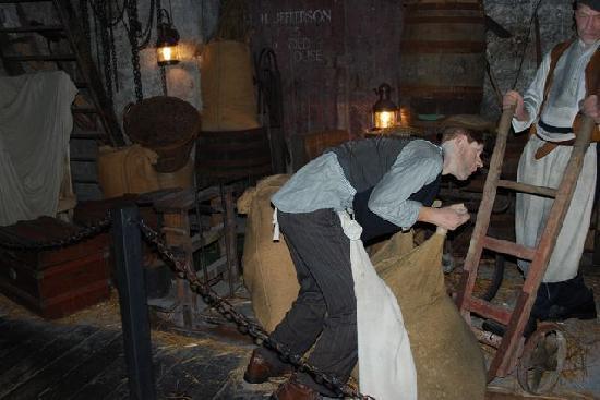 The Rum Story: Recreated scene