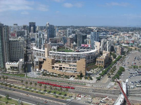 Petco Park: View from my hotel room