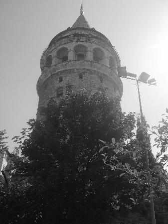 Sumo Cat Hostel: Galata Tower repère pour trouver l'Hostel