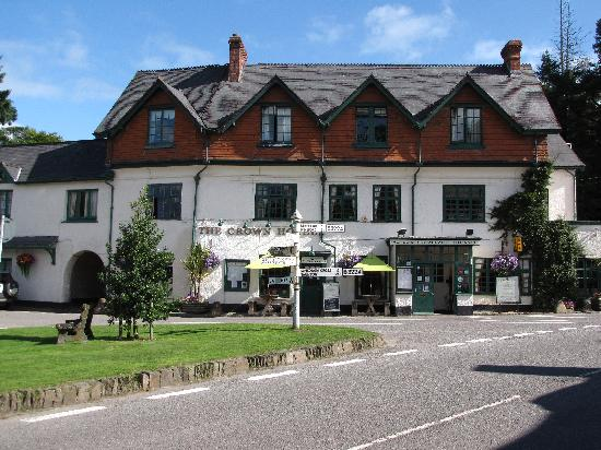 The Crown Hotel, Exford: from Exford Green