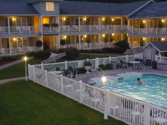 Quality Inn Lake George : le soir