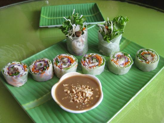 Fresh Mint: Fresh summer roll