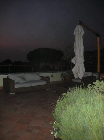 Seven Hostel: rooftop