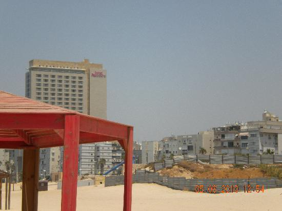 Colony Beach Bat Yam Apartments: schöner Ausblick