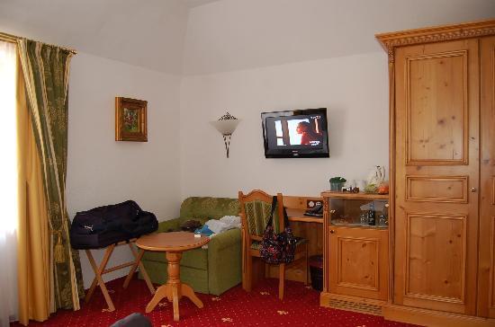 Mercure Sighisoara Binderbubi Hotel and Spa: unser Zimmer