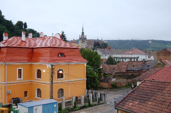 Mercure Sighisoara Binderbubi Hotel and Spa: Aussicht vom Fenster