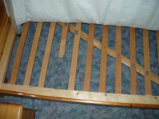 Steinbüchler Pandurenstern: defektes Bett