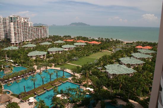 Howard Johnson Resort Sanya Bay: Deluxe Ocean (3/4) View