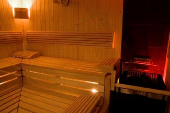 Der Waldhof: Sauna