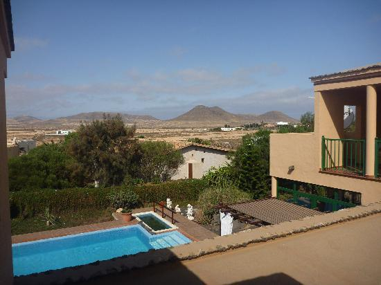 El Patio de Lajares: Blick auf die Berge