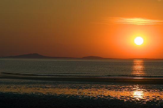 Andrea's Bed and Breakfast: Pembrokeshire sunset