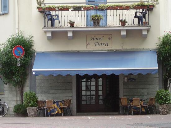 Hotel Flora: esterno del ristorante