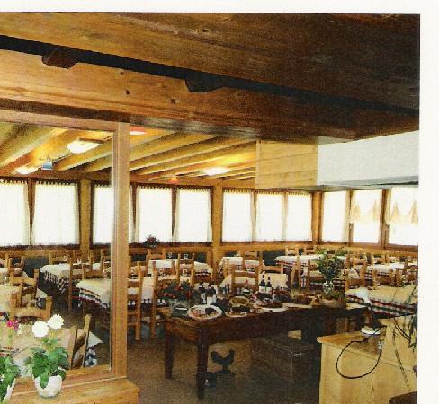 Albergo La Soldanella: il ristorante