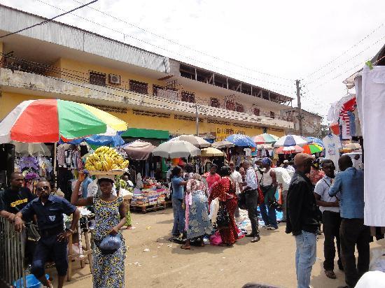 Libreville, Gabon: Markt