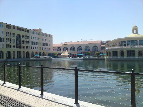 Marriott Executive Apartments Dubai, Green Community : Aussenansicht Hotel