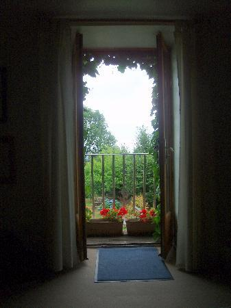 The Haven : photograph taken from the sittingroom