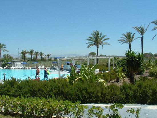 Selinunte Beach: piscina