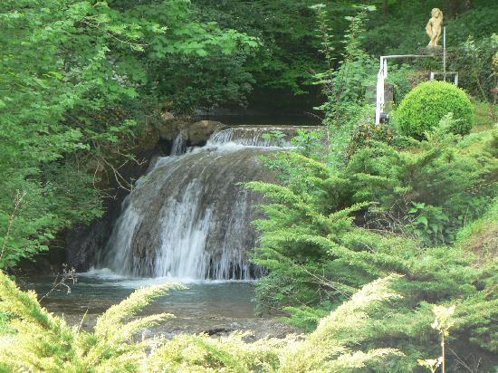 Domaine Du Moulin Vallee Heureuse : une des cascade, les truites sauvages y coulent de jours heureux!