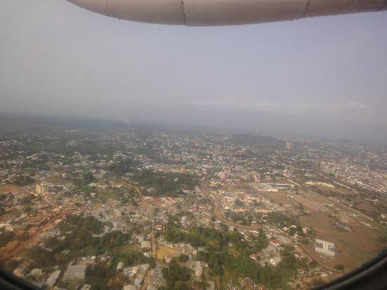 Gabon: Libreville aerial view