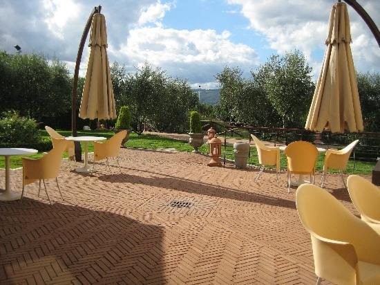 Sovana Hotel & Resort: Terrasse