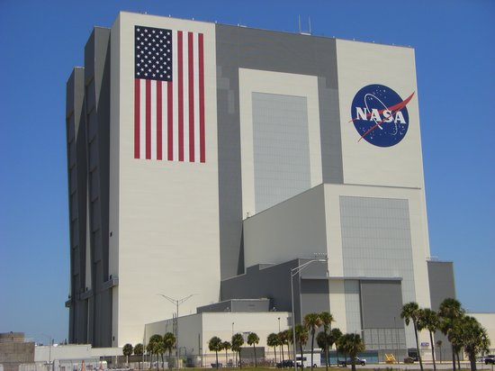NASA Kennedy Space Center Visitor Complex: The NASA assembly building