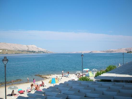 Pag, Croatia: view from balcony