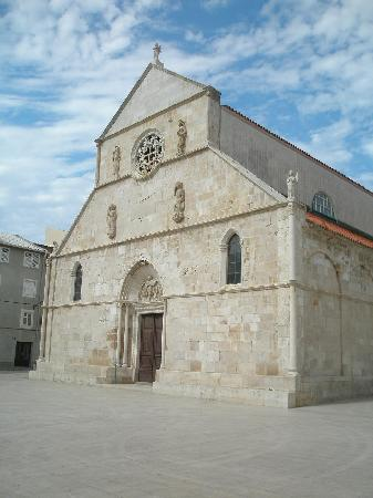 Pag, Croatia: church