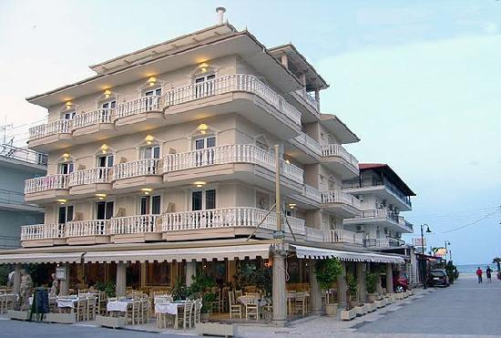Parthenon Hotel : Hotel Außenansicht