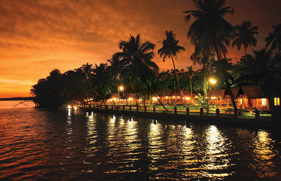 Vedic Village Resorts: Night view of Vedic