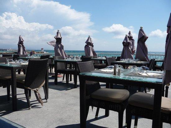 Villa Azur: La terrasse