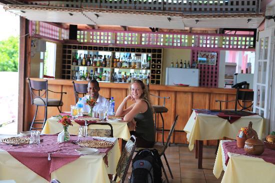 Delice Restaurant and Bar at La Haut Plantation: The restaurant at La Haut