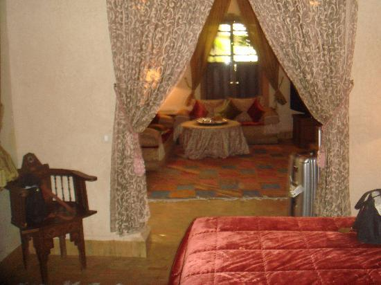 Our suite at Riad Kniza