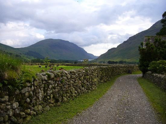Local landscape picture of burnthwaite farm wasdale for Local landscape designers