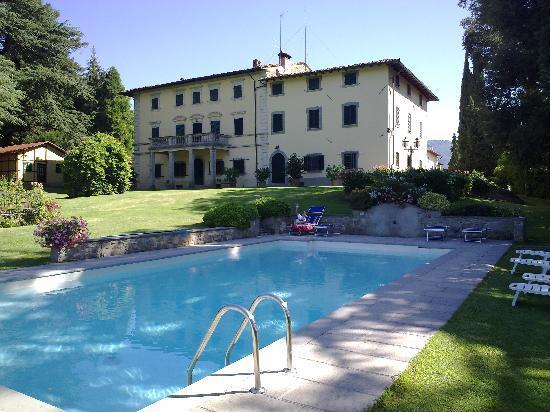 Vicchio, Italien: Blick vom Pool