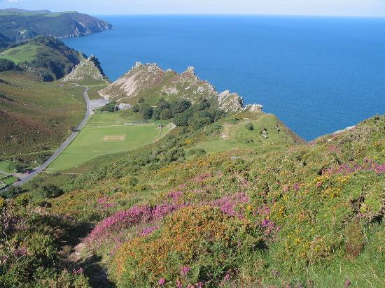 Southcliffe: View over the Valley of Rocks