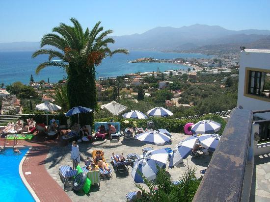 Hersonissos Village Hotel : View to Hersonissos