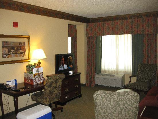 Hampton Inn West Palm Beach Florida Turnpike: sitting room