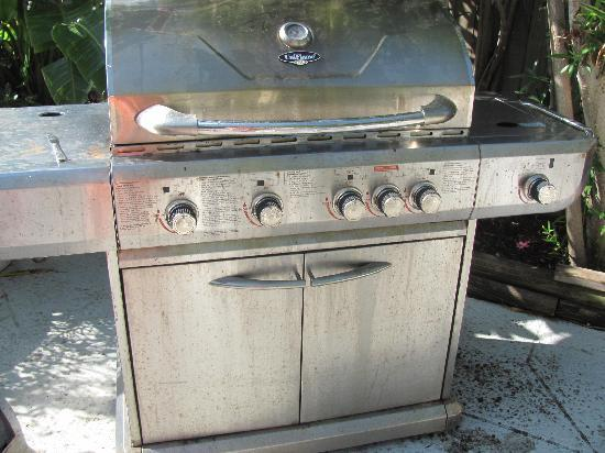 """Whispers Resort at Treasure Island: The wonderful """"clean"""" grill for use"""