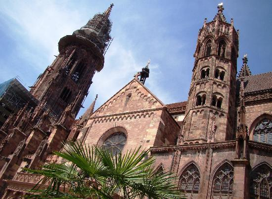 Freiburger Münster: Südseite