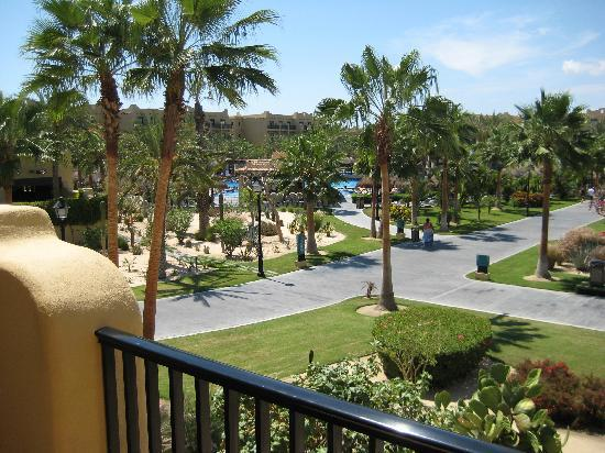 Garden View From Building 6 Picture Of Hotel Riu Santa Fe Cabo San Lucas Tripadvisor