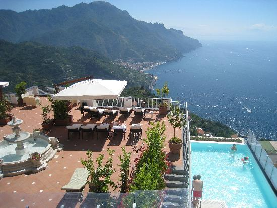 Hotel Villa Fraulo: pool/sundeck