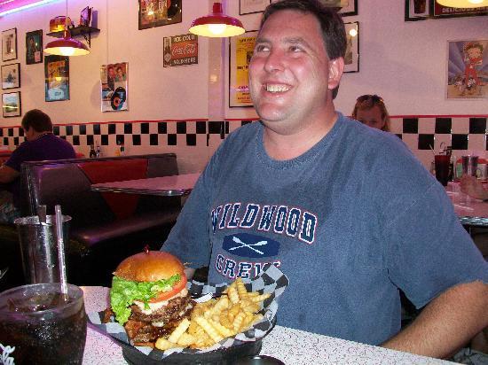 "Doo Wop Diner : Glen with ""The King"""